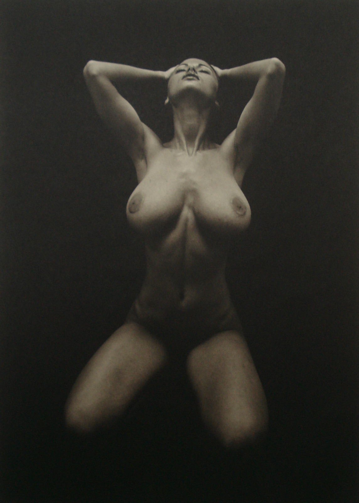 Tom Millea Platinum Print of Veronika