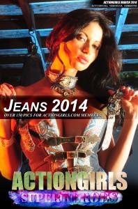 Veronica-Zemanova-Jeans-2014-POSTER