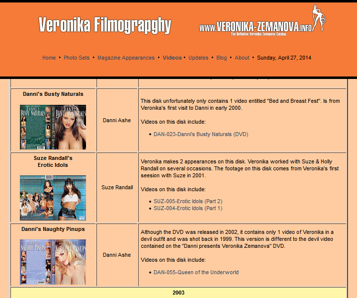 Filmography Preview
