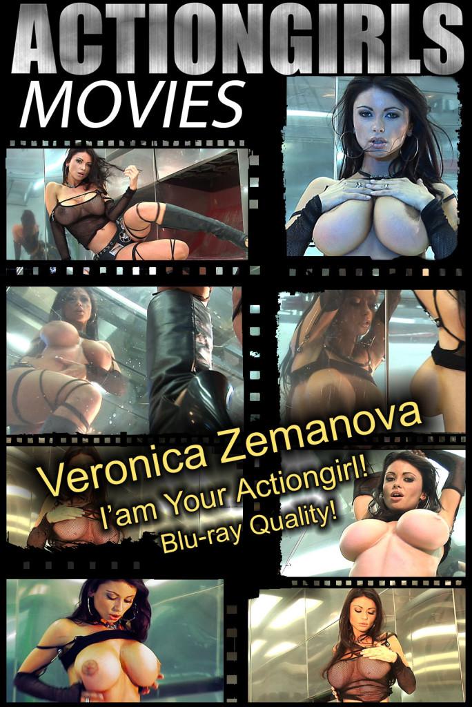 Veronica-Zemanova-Iam-Your-Actiongirl-POSTER