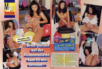 Sex Woche (1999) No 8 - Page 8 & 9 (Blog)